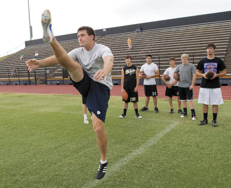 Will at Shoals Kicking Camp